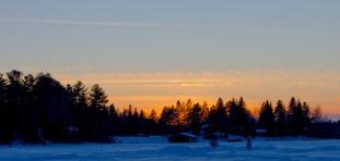 The sun sinks down over VOTL Resort.