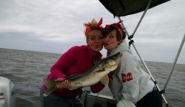 rachel and des walleye summer 2015 girls gone fishing tournament (2)