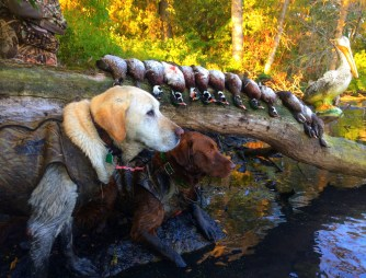 Jax and Ace with a 5 man limit of Woodies!