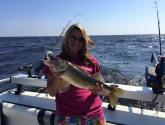 mariah zippel walleye charter summer 2015
