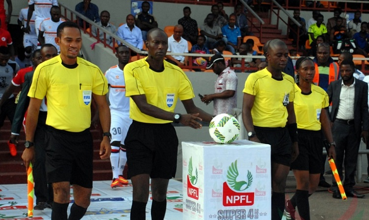 Enugu Police Command gets 4 upgraded football referees