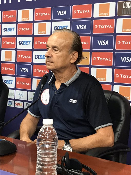 It's hell convincing players to play for their nation, says Rohr