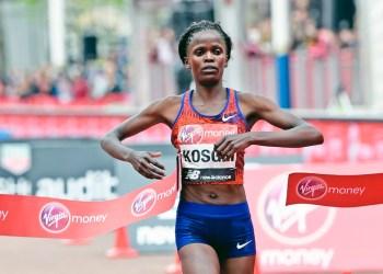 Kenyas Kosgei among 5 finalists for female athlete of the year