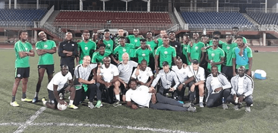 Lesotho vs Nigeria: Eagles train in match venue ahead Of Sunday's clash