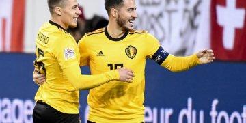 Hazard brothers help Belgium destroy Russia 4-1