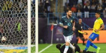 Messi scores as Argentina see off Brazil in friendly