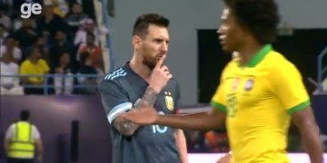 Messi tells Brazil coach to 'shut up after Argentina victory