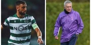 Mourinho reportedly eyes United target Fernandes as first Spurs signing