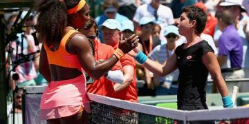 Serena Williams: Best player I have ever faced - Navarro