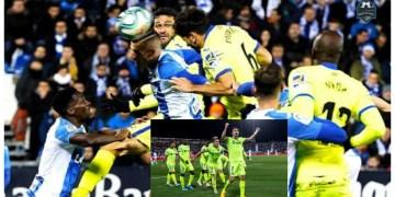 La Liga: Etebos Getafe thrash Omeruos Legane in south Madrid derby