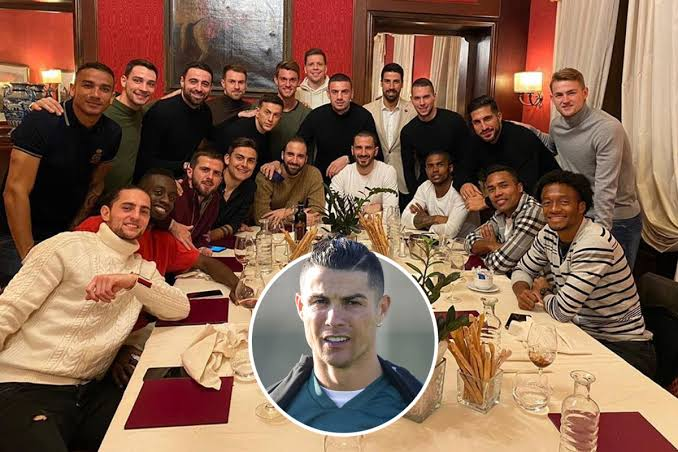 Ronaldo snubs Juventus dinner as squad meets for bonding session