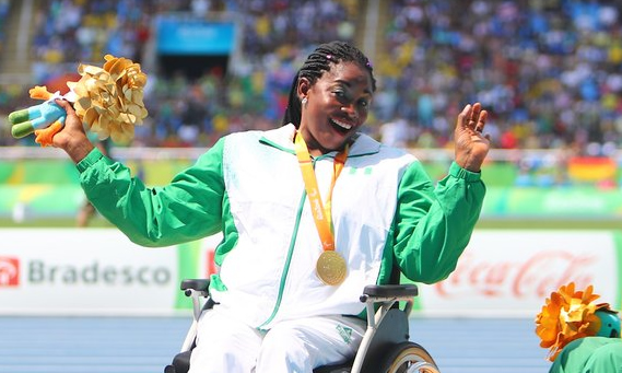 My husband quit his job to help me train for Paralympics- Nigerian Paralympian
