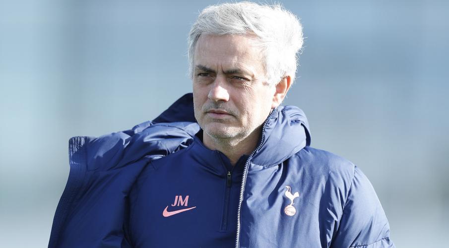Roma coach Mourinho celebrates Abraham's transfer deal