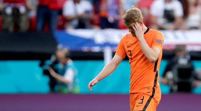 Euro 2020: Red-carded De Ligt takes blame for Dutch elimination