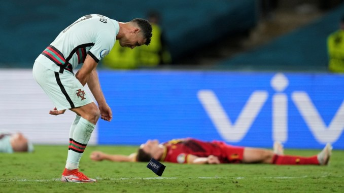 Ronaldo under fire for tossing Portugal captain's armband over ouster