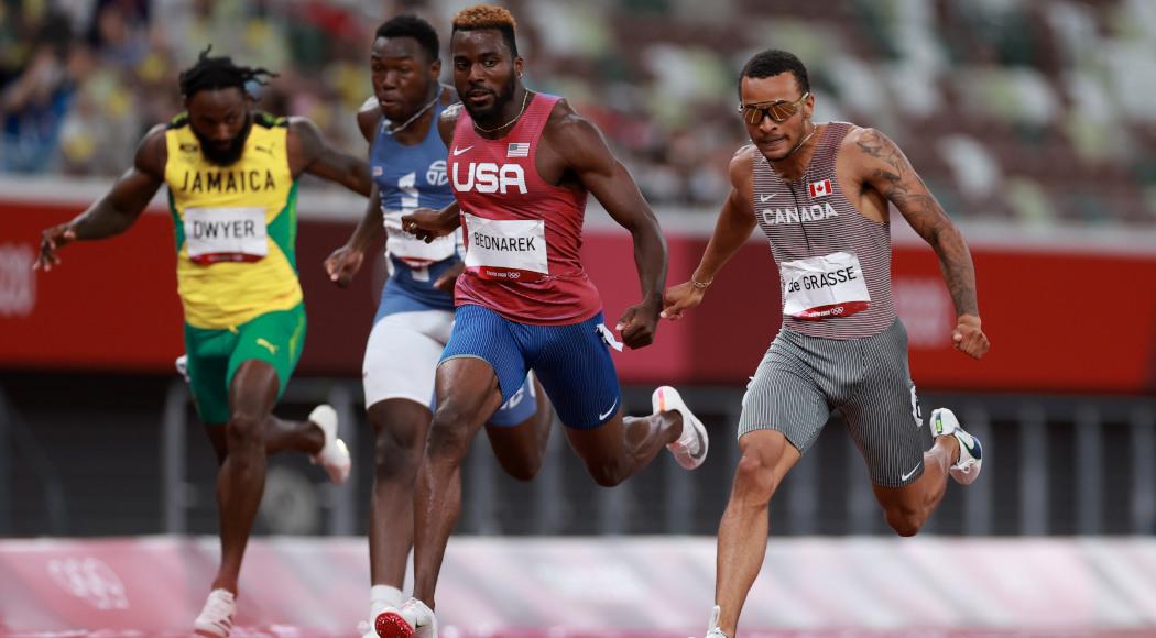 Tokyo Olympics: De Grasse wins the men's 200m gold, Lyles third