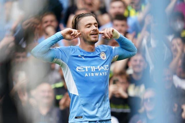 EPL: Grealish opens account as Man City thrash Norwich at Etihad