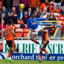 Aribo in action for 90 minutes as Dundee United shock Rangers
