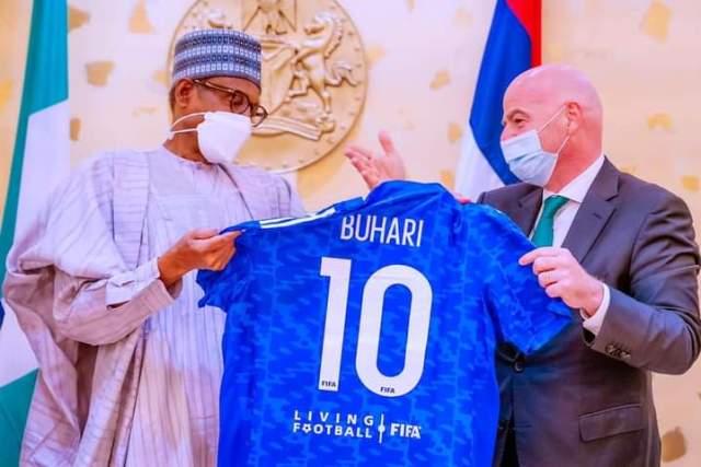 FIFA and Buhari