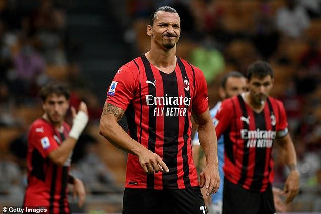 Champions League: Veteran AC Milan striker Ibrahimovic out of Liverpool clash