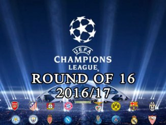 UCL round of 16 2016/17