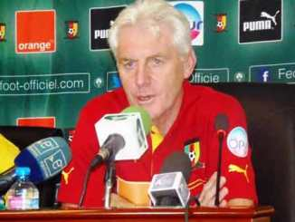 Cameroon FA manager hugo broos