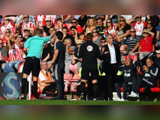 Jose Mourinho awaits charge after sending-off at St. Mary's