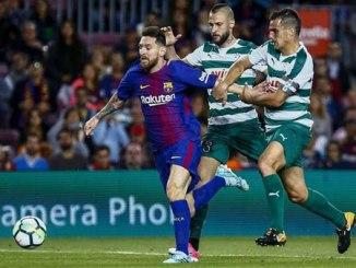No break for Messi