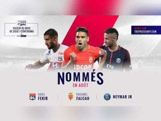 Neymar nominated for Ligue 1's Player of the Month award for August