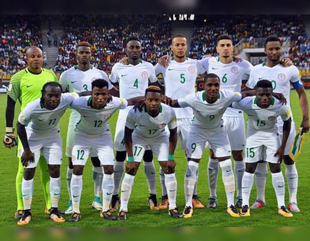FIFA Ranking: Super Eagles move up three places