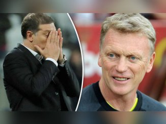 Slaven Bilic and David Moyes