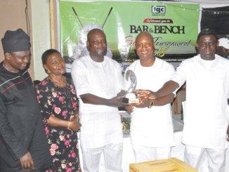 Tunde Akande is Bar and Bench Golf Open champion