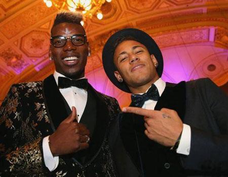 Pogba, Neymar