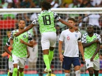 England v Nigeria