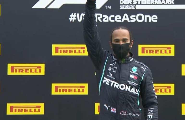 Lewis Hamilton verlengt contract bij Mercedes