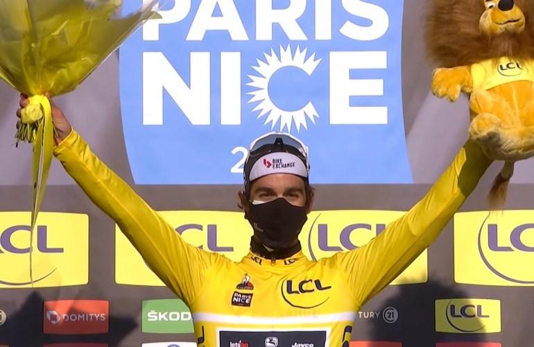 Samenvatting 2e etappe Parijs-Nice (video)