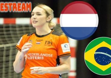 Nederland - Brazilië | Handbal livestream