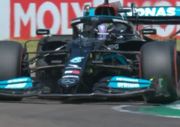 Hamilton pakt pole in Emilia-Romagna, Verstappen derde