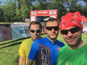 Determinare maxima la start, selfie cu Bogdan si Manuel.