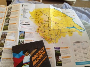 TdF Yorkshire Route and Project Rainbow
