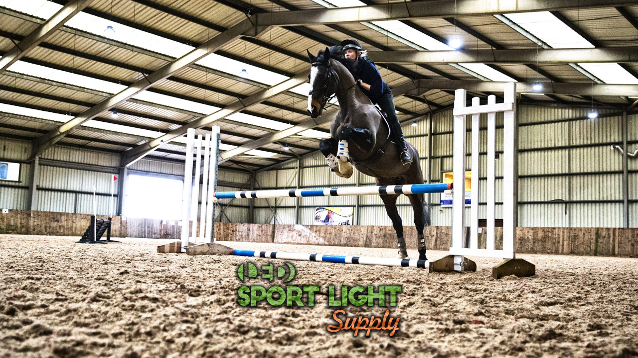 horse arena lighting outdoor and