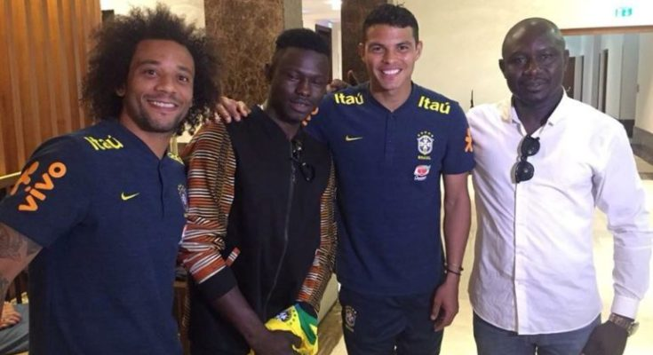 Mamoudou Gassama: Discover the gift that Marcelo offered him