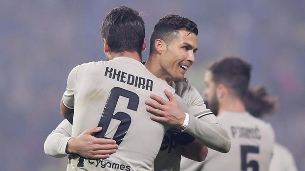 Sassuolo 0-3 Juventus: Cristiano Ronaldo scores as champions go 11 points clear — High Velocity Sport