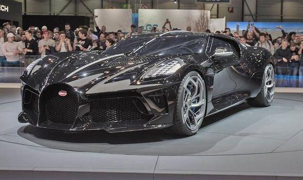 Cristiano Ronaldo buys £9.5 million Bugatti La Voiture Noire – World's most expensive car. — Platform38