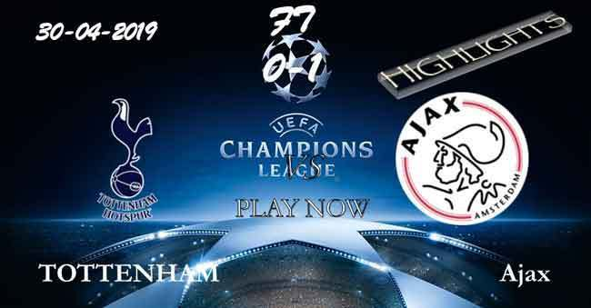 Tottenham 0-1 Ajax HIGHLIGHTS 30.04.2019 — video PPsoccer