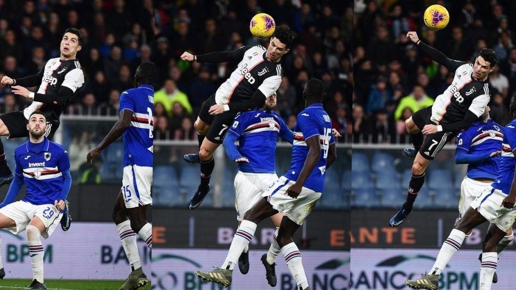 Juve hail Ronaldo's gravity-defying leap — Digest Nigeria