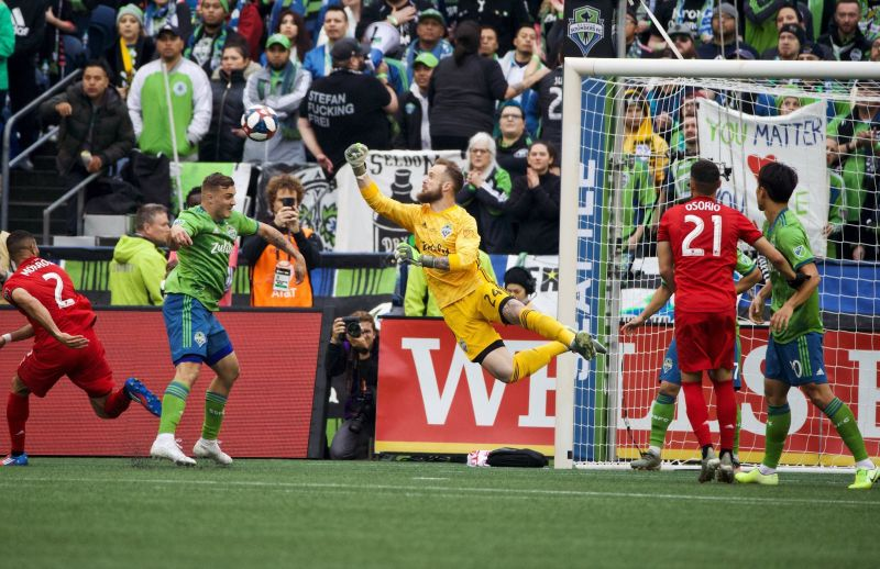 Sounders FC Cristian Roldan and Stefan Frei on work outs, fans, and getting ready for MLS play — Cascadiasports.net
