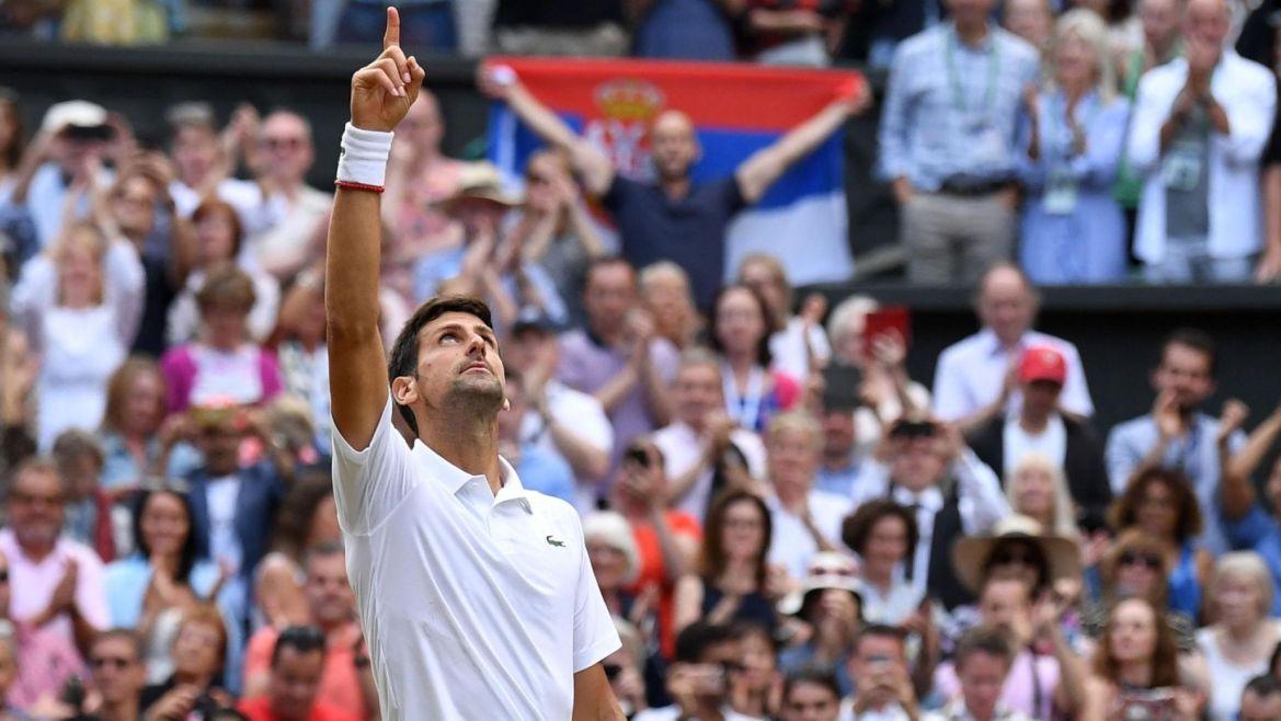 Djokovic saves match points, beats Federer in historic Wimbledon final — FOX 61