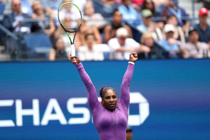Serena Williams Injures Right Ankle In Fourth Round U.S. Open Win — The DINGY💎 DIAMOND