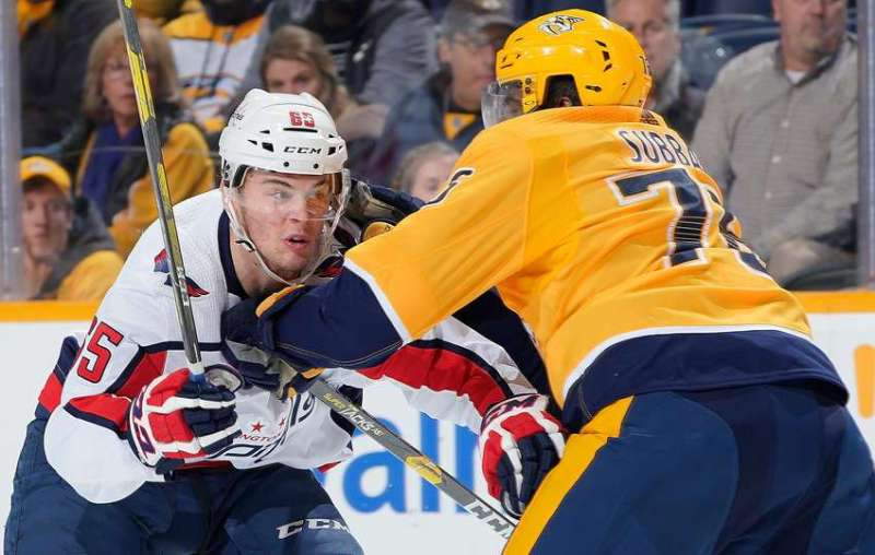 Predators beat Caps 7-2 in a game so bad you don't really need to read this recap —